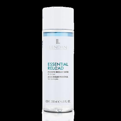 Agua Micelar Prebiótica ESSENTIAL RELOAD 200 ml. / LENDAN