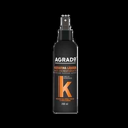 Laceador Keratina Liquida Anti-encrespamiento Agrado 200 ml / Yass
