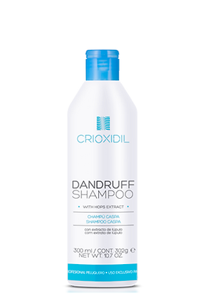 Shampoo Caspa 300 ml. / CRIOXIDIL