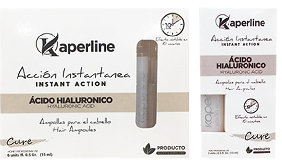 Ampollas Acido Hialurónico 6 UD/ Kaperline