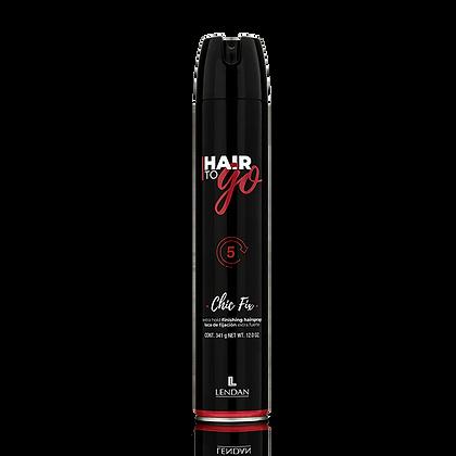 Laca de Fijación Extrema Hair To Go 650 ml. / LENDAN
