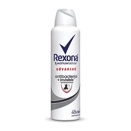 Desodorante Aerosol Antibacterial Invisible 150 ml. / Rexona