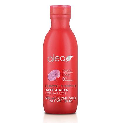 Shampoo Anti-Caída Con Extracto de Malabar 500 ml. / ALEA