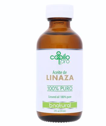 Aceite puro linaza 2 oz. / Capilo Pro