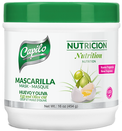 Mascarilla Huevo y Oliva 16 oz. / Cpilo