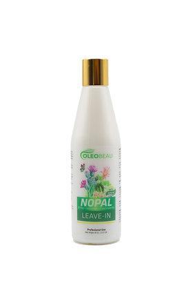 Leave-in Natural de Nopal Orgánico 8 oz. / OLEOBEAU