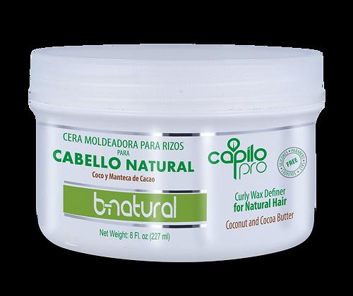 Cera moldeadora para rizos B-Natural 16 oz. / Capilo Pro