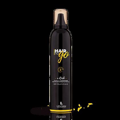 Espuma Volumen Flexible Hair To Go  405 ml. / LENDAN