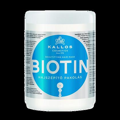 Mascarilla Y Shampoo Biotín Kallos 1,000 Ml. c/u / Yass