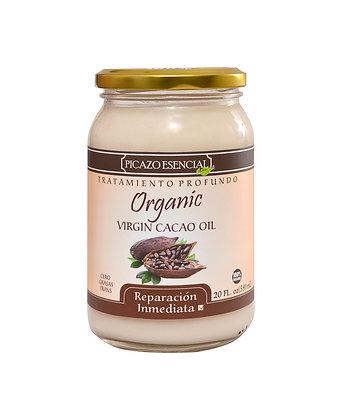 Tratamiento Virgin Cacao Oil 20 Oz./ Picazo Esencial