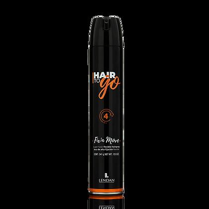 Laca de Fijación Progresiva Hair To Go 650 ml. / LENDAN