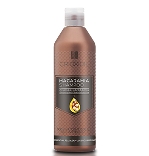 Shampoo Macadamia 300 ml. / CRIOXIDIL