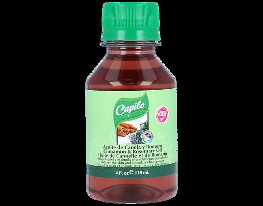 Aceite de Canela y Romero 4 oz. / Capilo