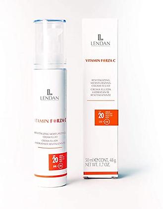 Crema Fluida Hidratante Regeneradora 50 ml. - 200 ml. / LENDAN