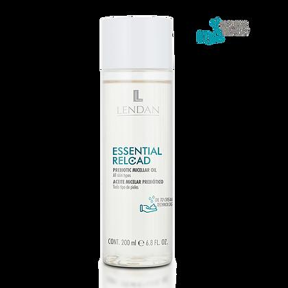 Aceite Micelar Prebiótico ESSENTIAL RELOAD 200 ml. - LENDAN