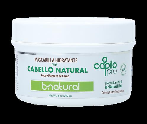 Mascarilla Hidratante B-Natural 8 oz. /  Capilo Pro