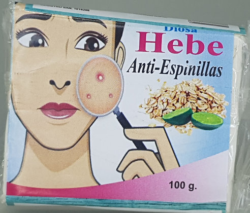 Jabón Antiespinillas 100g-Diosa Hebe