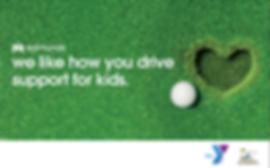 YMCA golf day ad