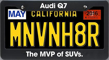 Minivan hater article image - Audi Q7