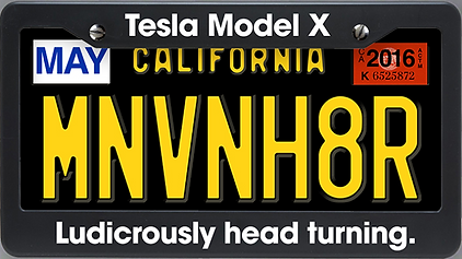 Minivan hater article image - Tesla Model X