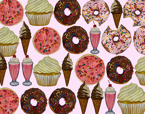 Sweet Tooth Collage