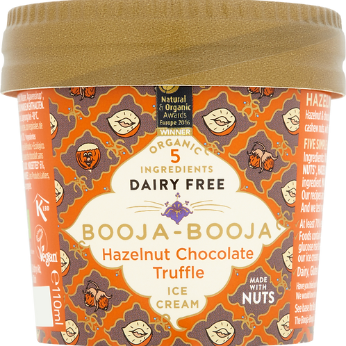 Hazelnut Chocolate Truffle Mini Tub 110ml