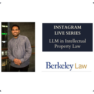 Rafael Pereira on pursuing an LLM in IP Law from the University of California, Berkeley Law School