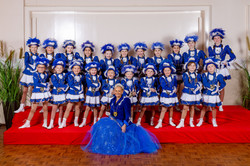 Sternchen Garde Blau Weiß