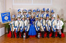 Tanzgarde Blau Weiß