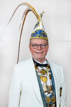 Präsident Manfred Mertens