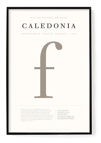 Caledonia Poster 24 x 36