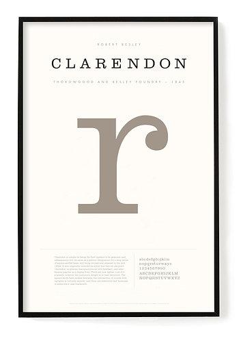 Clarendon Poster 24 x 36