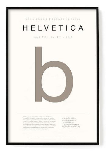 Helvetica Poster 24 x 36