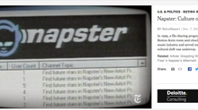 RetroReport on Napster