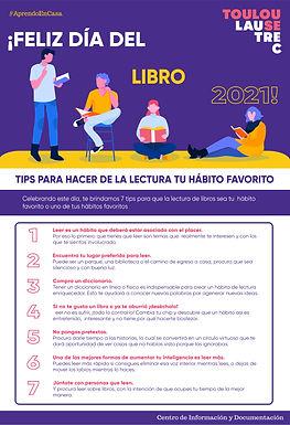 ¡FELIZ DÍA DEL LIBRO 2021!