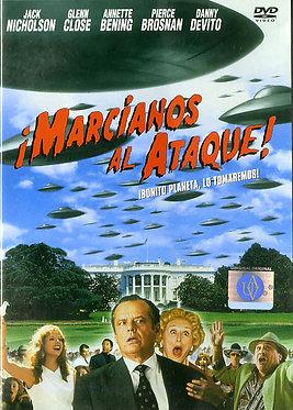 ¡Marcianos al ataque!  /  Tim Burton