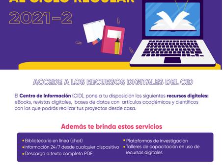 BIENVENIDOS AL CICLO 21-2