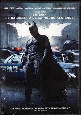 Batman: el caballero de la Noche Asciende  /  Christopher Nolan