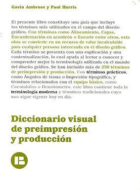 DICCIONARIO VISUAL DE PREIMPRESIÓN Y PRODUCCIÓN