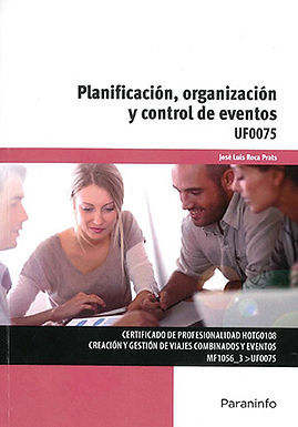 PLANIFICACIÓN, ORGANIZACIÓN Y CONTROL DE EVENTOS