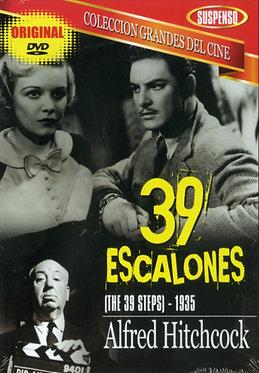 39 escalones  /  Alfred Hitchcock