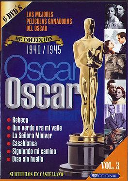 Las mejores películas ganadoras del oscar 1940-1945  /  Varios