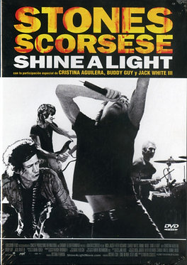 Shine a light  /  Martin Scorsese