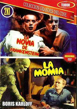 La novia de Frankenstein, La momia  /  James Whale