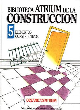 BIBLIOTECA ATRIUM DE LA CONSTRUCCIÓN: ELEMENTOS CONSTRUCTIVOS