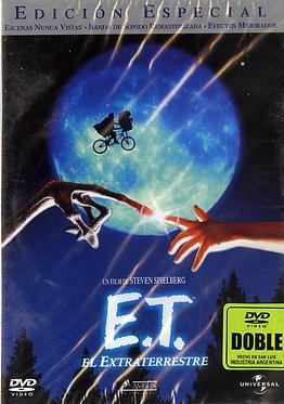 E.T. el extraterrestre  /  Steven Spielberg