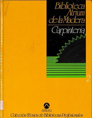 BIBLIOTECA ATRIUM DE LA MADERA: CARPINTERÍA
