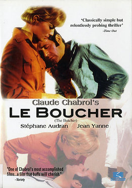 Le Boucher (The Butcher)  /  Claude Chabrol
