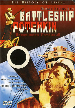 Battleship Potemkin  /  Sergei Eisenstein