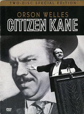Citizen Kane  /  Orson Welles